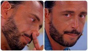 Armando Incarnato in lacrime
