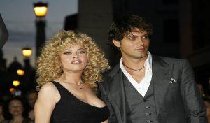 Eva Grimaldi e Gabriel Garko